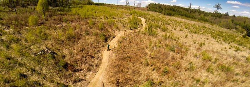 Nový Singl trail Moravský Kras