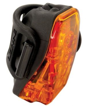 LED Laser Drive Rear Black