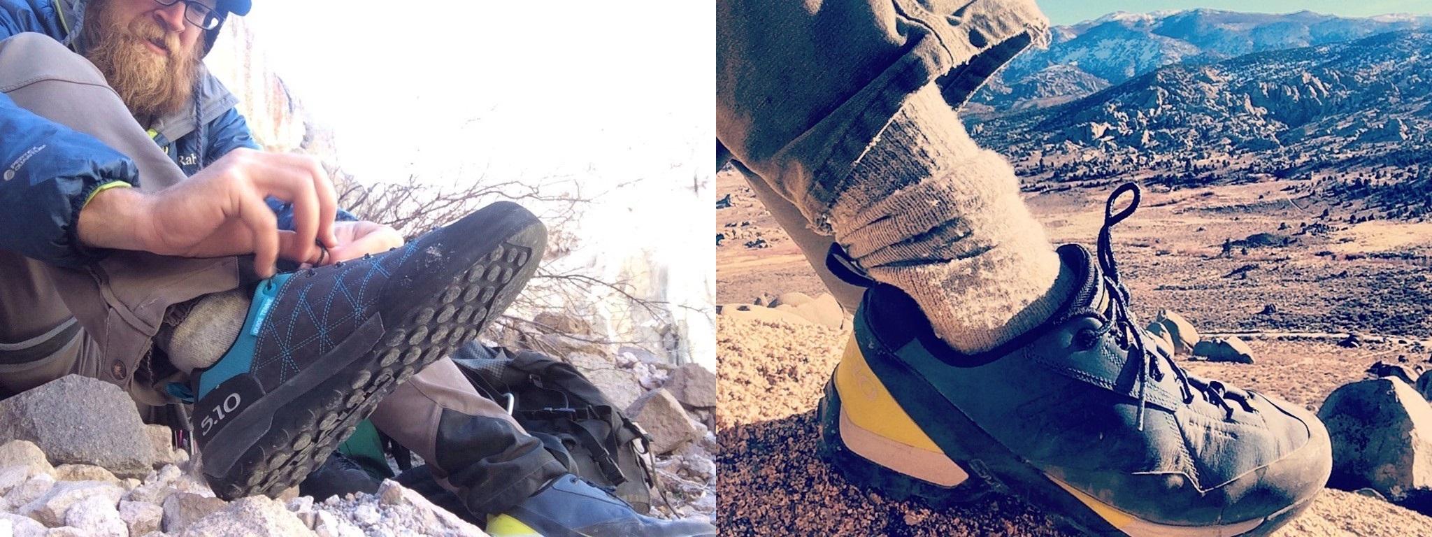 Naši obuv jsme podrobili srovnání s obuví La Sportiva Ganda a La Sportiva  Boulder X. ... Jaké nám tedy přineslo výsledky  Camp Four ... 8609888c148